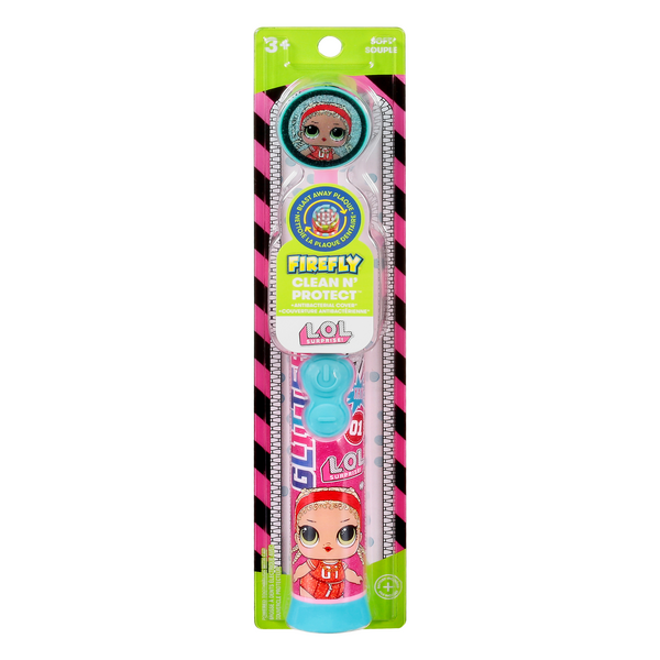 Firefly Clean N' Protect Toothbrush Soft Ages 3+