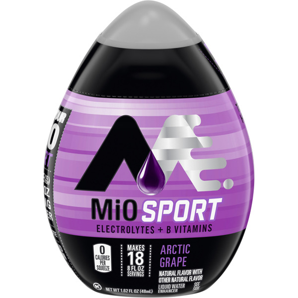 MiO Fit Liquid Water Enhancer Arctic Grape - 18 Servings