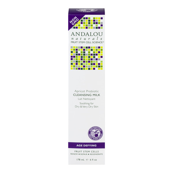 Andalou Naturals Apricot Probiotic Cleansing Milk Age Defying