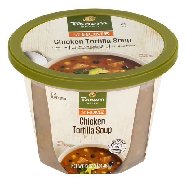 Panera Bread at Home Chicken Tortilla Soup Low Fat Refrigerated