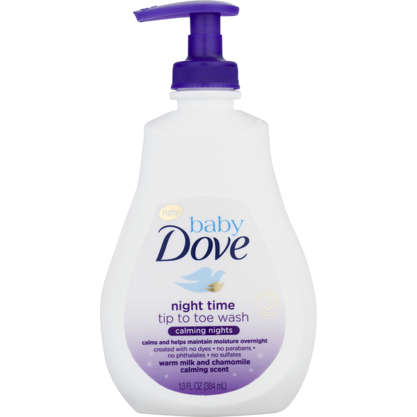 Baby Dove Night Time Tip to Toe Wash Calming Nights