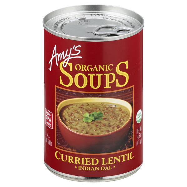 Amy's Indian Dal Curried Lentil Soup Organic