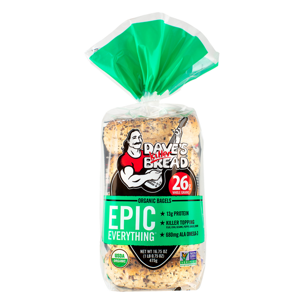 Dave's Killer Bread Epic Everything Bagels Organic - 5 ct