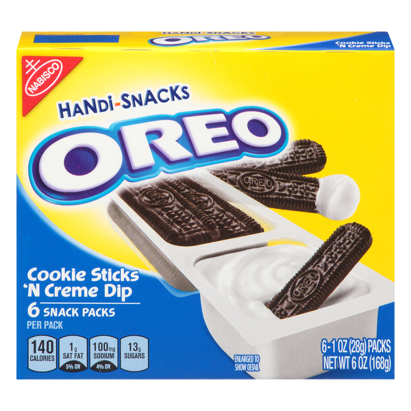 Nabisco Handi-Snacks Oreo Cookie Sticks 'n Creme
