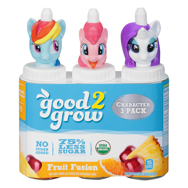 good2grow Juice Beverage Fruit Fusion Flavored - 3 pk