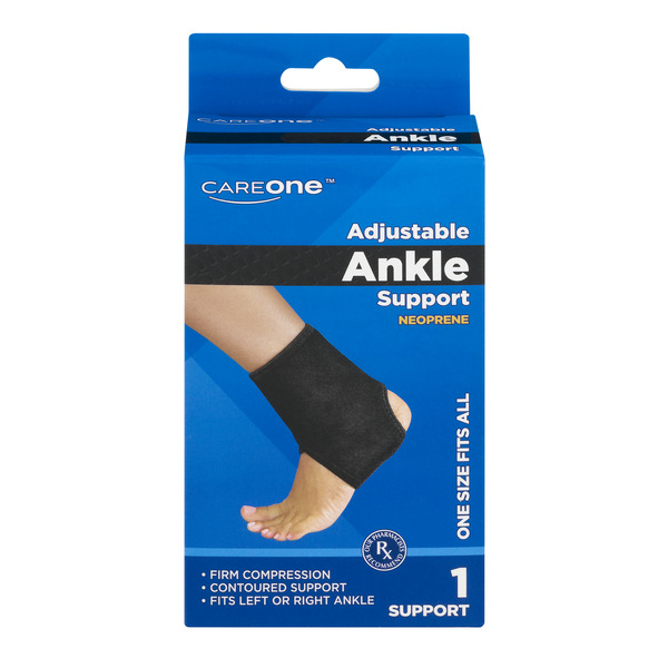 CareOne Adjustable Ankle Support One Size Fits All