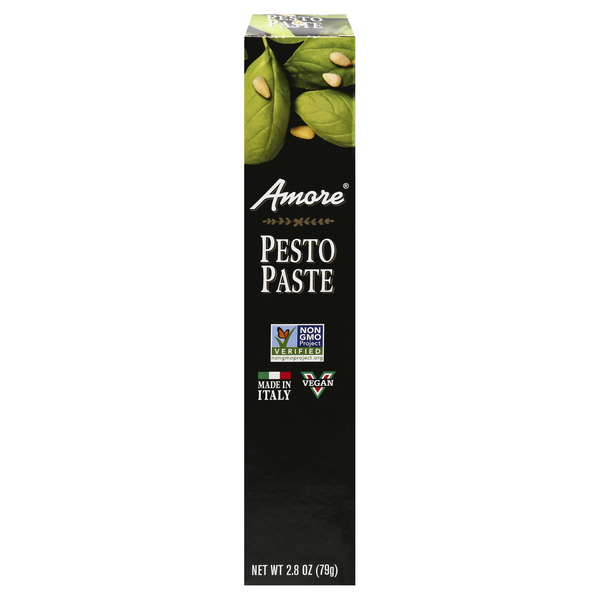 Amore Pesto Paste Concentrated Italian Tube Vegan