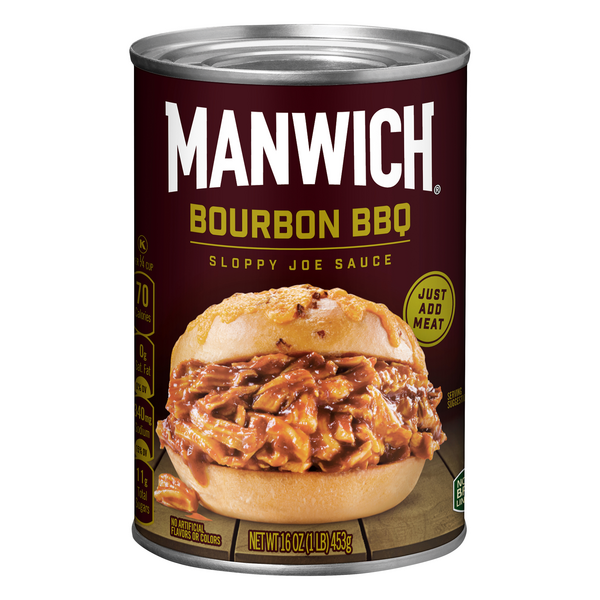 Hunt's Manwich Sloppy Joe Sauce Bourbon BBQ