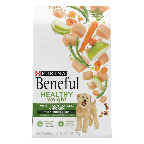 Purina Beneful Dog Food Healthy Weight with Real Chicken