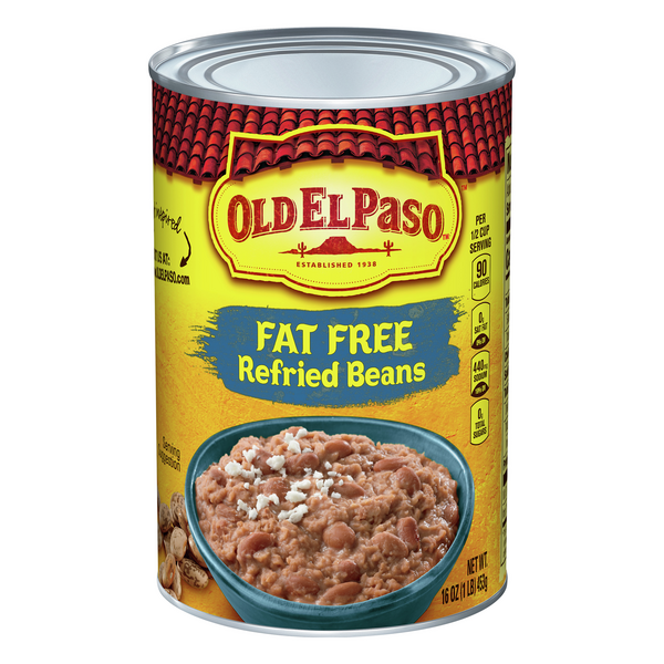 Old El Paso Refried Beans Fat Free