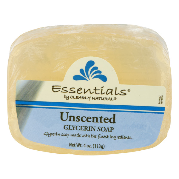 Clearly Natural Essentials Glycerine Soap Unscented