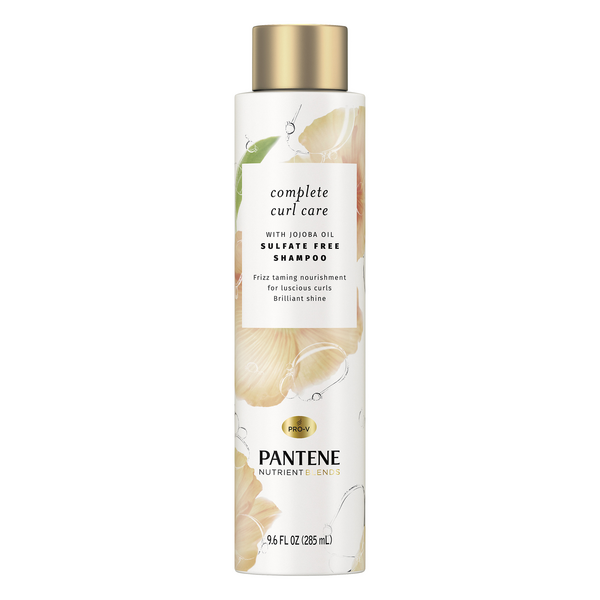 Pantene Nutrient Blends Complete Curl Care Shampoo with Jojoba Oil