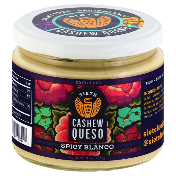 Siete Cashew Queso Spicy Blanco Dairy Free