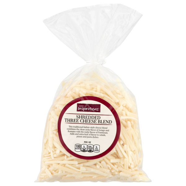 Taste of Inspirations Three Cheese Blend Shredded