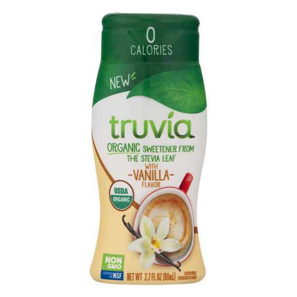 Truvia Sweetener from the Stevia Leaf with Vanilla Organic