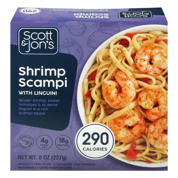 Scott & Jon's Pasta Bowl Shrimp Scampi