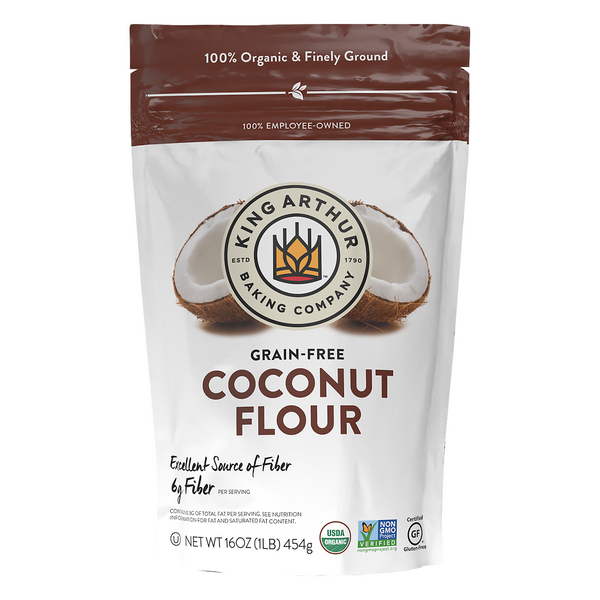 King Arthur Coconut Flour Finely Ground Gluten Free Organic