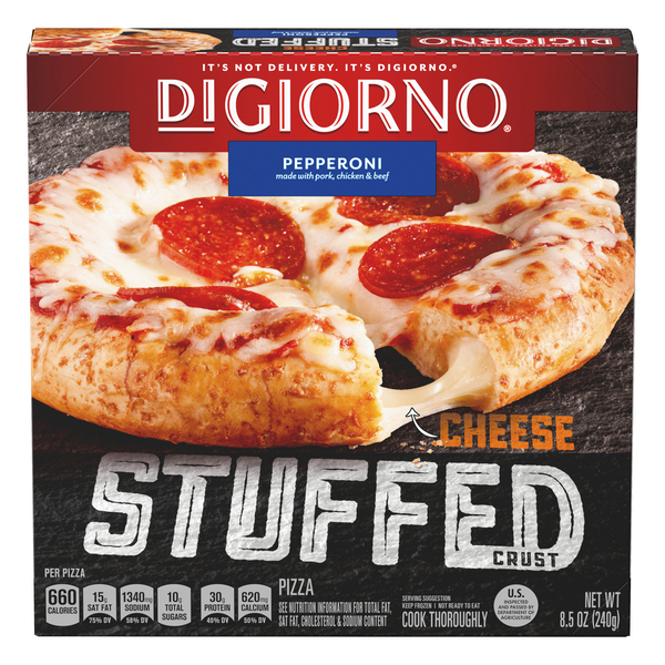 DiGiorno Cheese Stuffed Crust Pizza Pepperoni