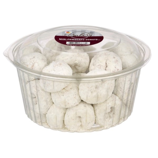 Stop & Shop Bakery Mini Donuts Powdered Sugar
