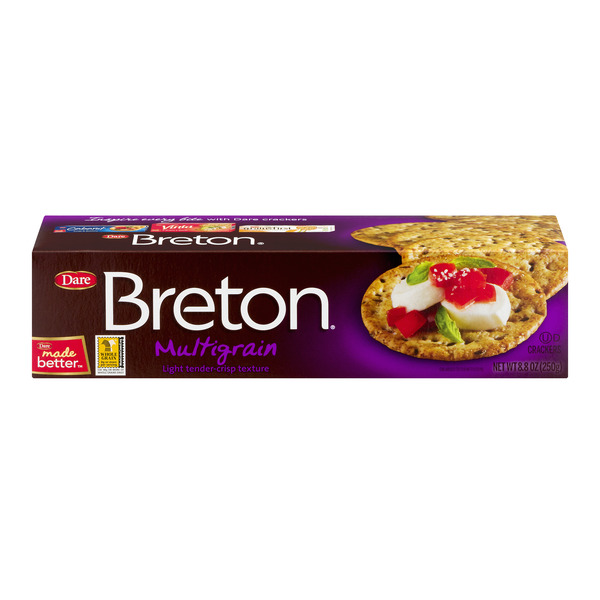 Dare Breton Crackers Multigrain