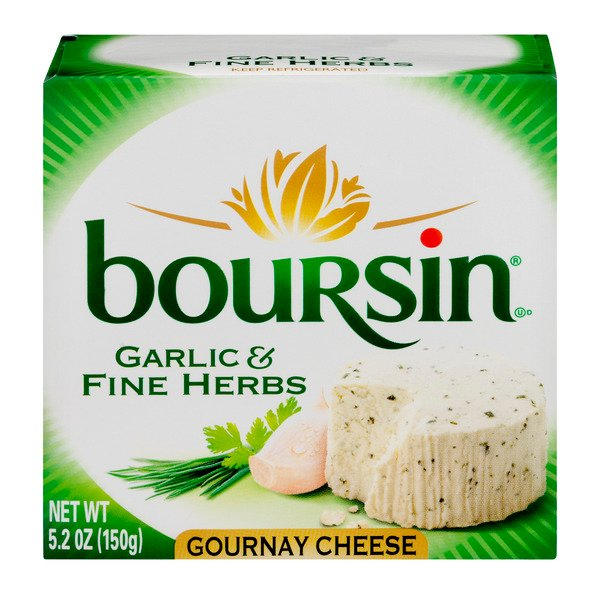 Boursin Gournay Cheese Garlic & Fine Herbs