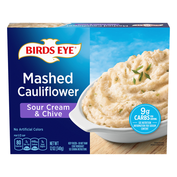 Birds Eye Mashed Cauliflower Sour Cream & Chive
