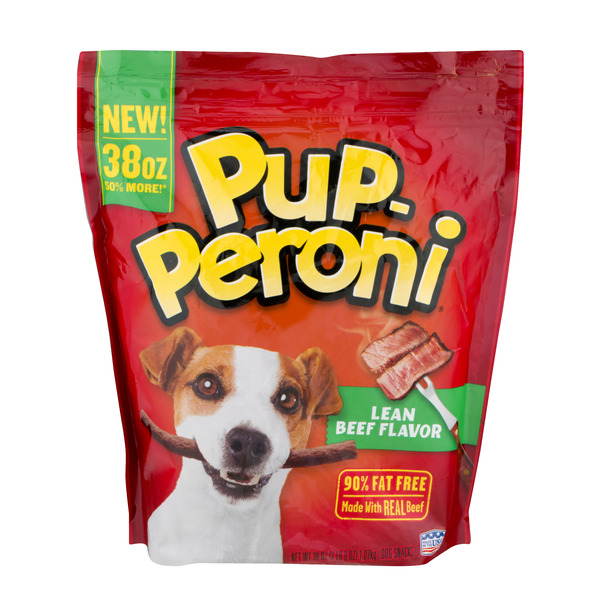 Pup-Peroni Dog Snacks Lean Beef Flavor