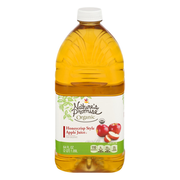 Nature's Promise Organic Honeycrisp Style Apple Juice from Concentrate