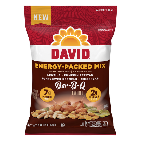 David Energy-Packed Mix Bar-B-Q