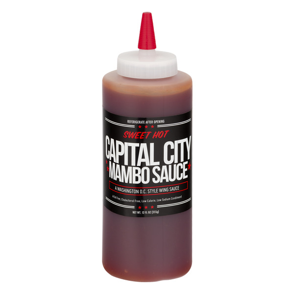 Capital City Mambo Sauce Sweet Hot