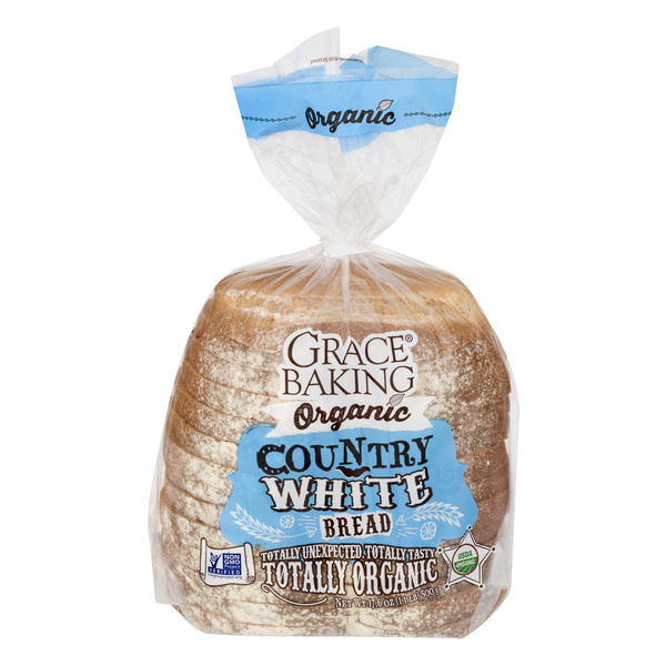 Grace Baking Country White Bread Organic