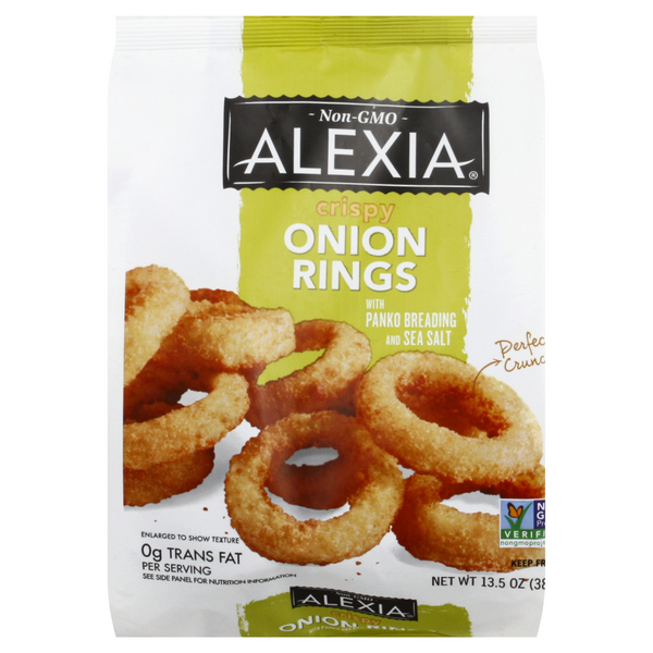 Alexia Onion Rings Crispy with Sea Salt All Natural