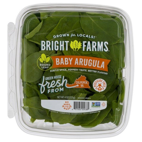 BrightFarms Local Baby Arugula Salad