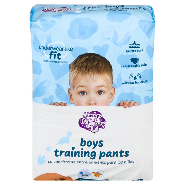 Always My Baby Boys 4T-5T Training Pants 38+ lbs