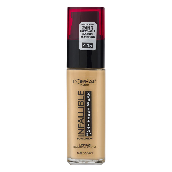 L'Oreal INFALLIBLE up to 24H Fresh Wear Foundation Vanilla 445