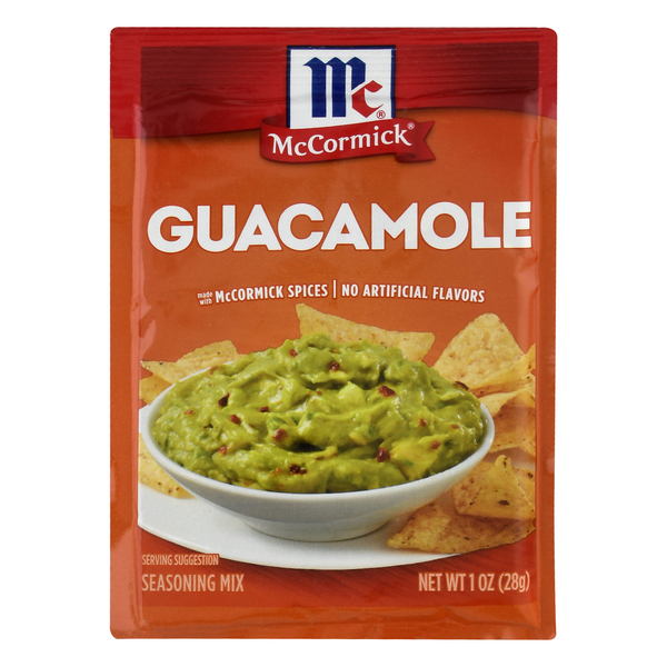 McCormick Seasoning Mix Guacamole