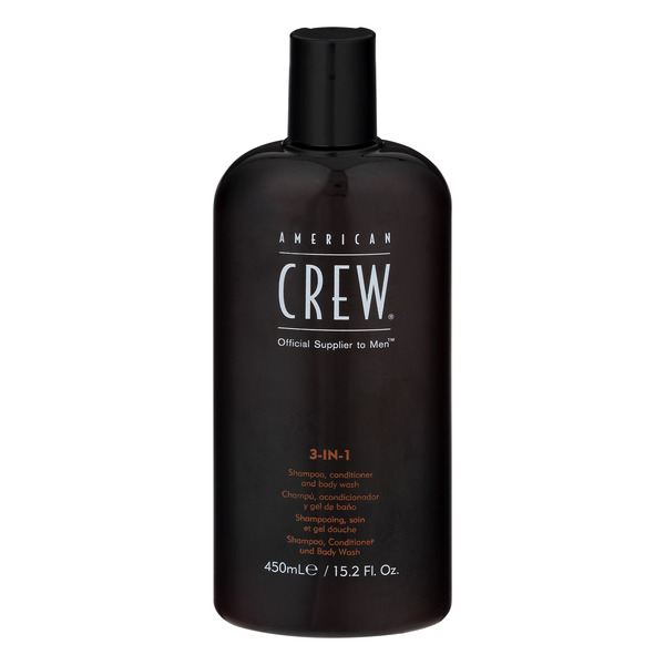 American Crew 3-in-1 Shampoo Conditioner Body Wash