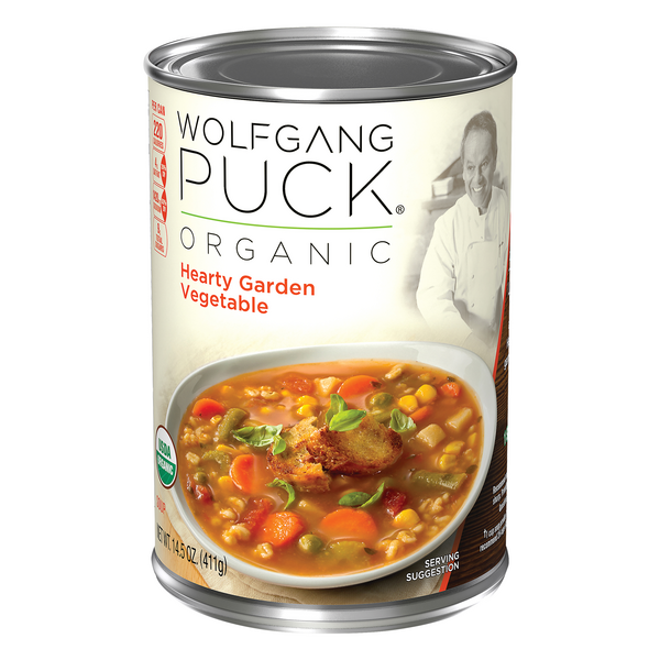 Wolfgang Puck Hearty Garden Vegetable Soup Organic