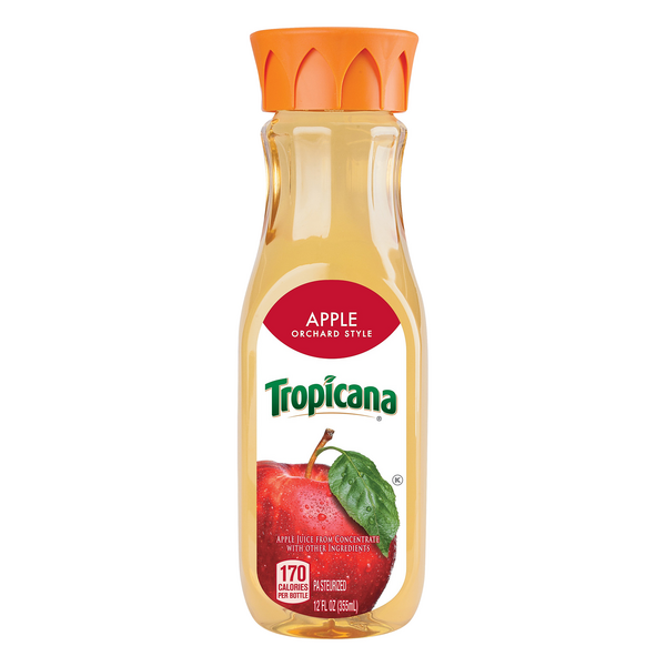 Tropicana Orchard Style 100% Juice Apple