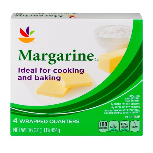 GIANT Margarine Sticks - 4 ct