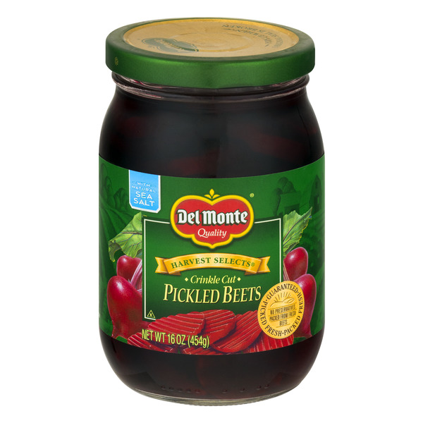 Del Monte Harvest Selects Beets Pickled Crinkle Cut