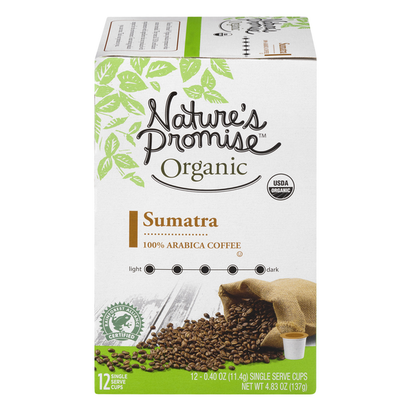 Nature's Promise Organic Sumatra Coffee K-Cups