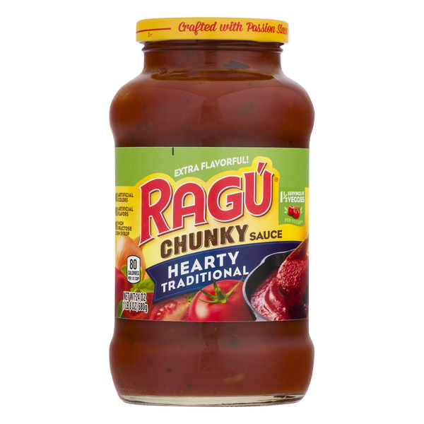 Ragu Chunky Pasta Sauce Hearty Traditional