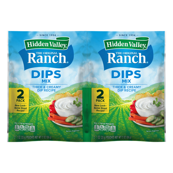 Hidden Valley Dips Mix Ranch The Original - 2 ct