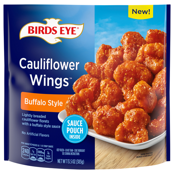 Birds Eye Cauliflower Wings Buffalo Style