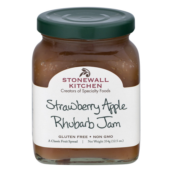 Stonewall Kitchen Strawberry Apple Rhubarb Jam Gluten Free