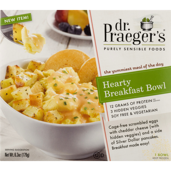 Dr. Praeger's Hearty Breakfast Bowl Soy Free Vegetarian