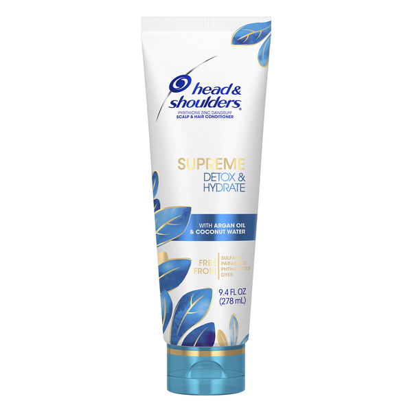 Head & Shoulders Supreme Detox & Hydrate Scalp & Hair Conditioner