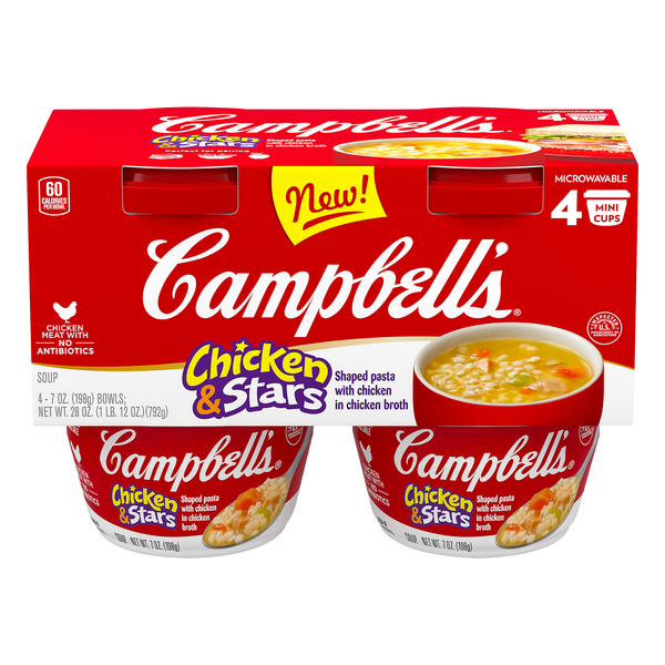 Campbell's Chicken & Star Soup - 4 ct
