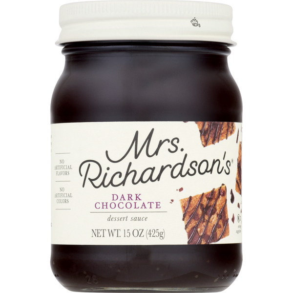Mrs. Richardson's Dessert Sauce Dark Chocolate